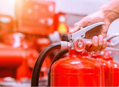 FIRE EXTINGUISHERS INSPECTIONS & SERVICES